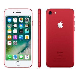 iPhone 7 32gb Vermelho SemiNovo de Vitrine