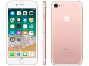 iPhone 7 32gb Rosa SemiNovo de Vitrine
