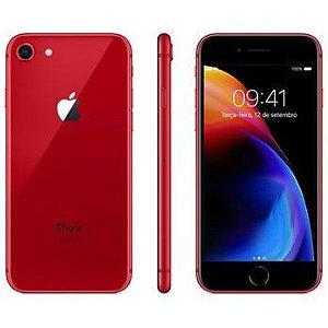 iPhone 8 64gb Vermelho SemiNovo de Vitrine
