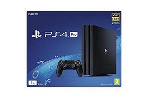 Console PlayStation 4 Pro 1tb Preto