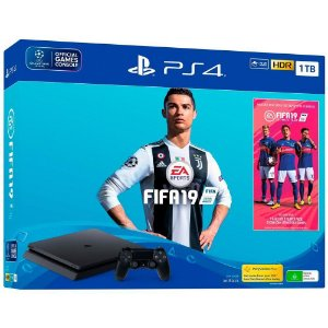 Console PlayStation 4 Slim 1tb + FIFA 2019
