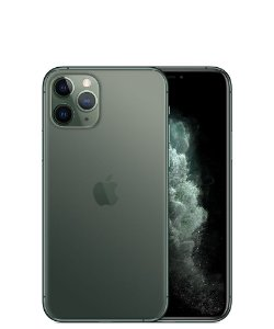 "Apple iPhone 11 Pro 256GB Super Retina OLED 5.8"" Tripla 12MP/12MP iOS - Verde Meia Noite - Lacrado na caixa - 1 Ano de Garantia Apple."