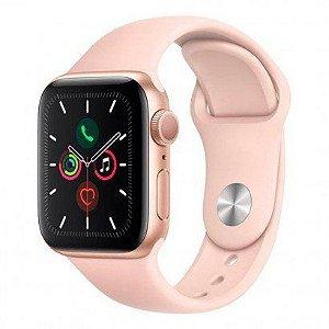 Smartwatch Apple watch Serie 5 44mm Rose Gold - Aluminio Rosa , Com Pulseira esportiva Pink