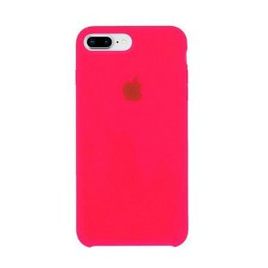 Capa Capinha Case de Silicone - iPhone 8 plus / Iphone 7 plus - Rosa
