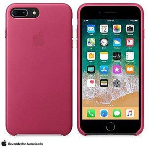 Capa Capinha Case de Silicone para Iphone 7 / Iphone 8 Plus - Rosa
