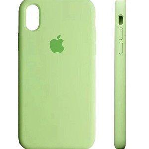Capa Capinha Case de Silicone para Iphone XR - Verde