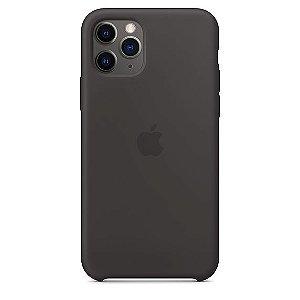 Capa Capinha Case de Silicone para Iphone 11 Pro - Preto