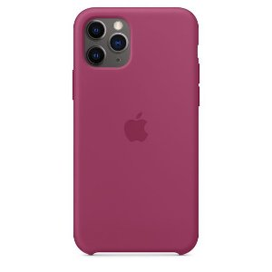 Capa Capinha Case de Silicone para Iphone 11 Pro - Vinho