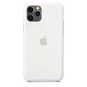 Capa Capinha Case de Silicone para Iphone 11 Pro Max - Branco