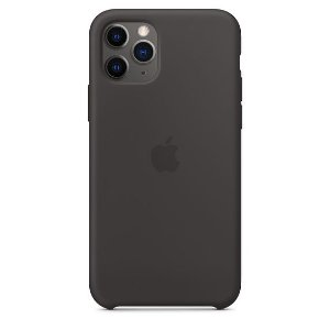Capa Capinha Case de Silicone para Iphone 11 Pro Max - Preto