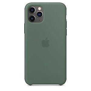 Capa Capinha Case de Silicone para Iphone 11 Pro Max - Verde