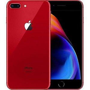 iPhone 8 Plus Vermelho 256GB Semi Novo De Vitrine