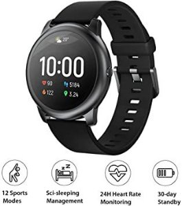 Smartwatch Haylou LS05 Solar, Bluetooth 5.0, IP68, Tela 1.28