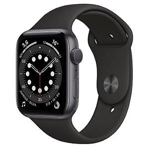 Apple Watch Series 6 44mm Gps - Preto ( Cinza Espacial )