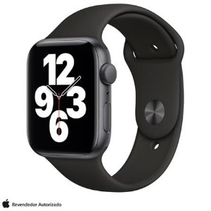 Apple Watch SE 44 mm GPS - Cinza espacial - Novo Lacrado na caixa - 1 Ano de Garantia Apple