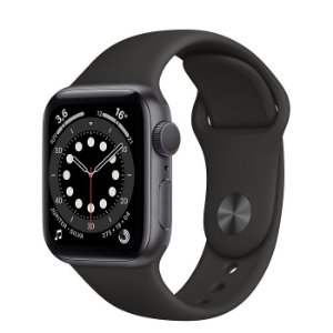 Apple Watch Serie 6 Gps 40mm Original Apple - Cinza Espacial ( Preto )
