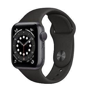 Apple Watch Serie 6 Gps 40mm Original Apple - Cinza Espacial ( Preto )