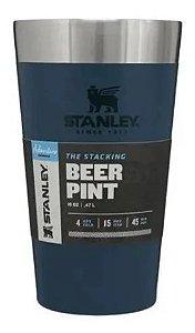 Copo Térmico Stanley Para Cerveja Azul Original / 473ml