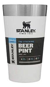 Copo Térmico Stanley Para Cerveja Branco Original / 473ml