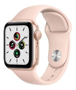 Apple Watch SE 44 mm GPS - Rosa - Novo Lacrado na caixa - 1 Ano de Garantia Apple