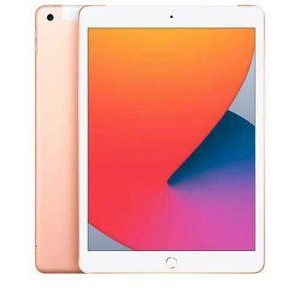 "Apple iPad  8ª 10.2""  Dourado Rose  ( Rosa )"