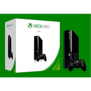 CONSOLE XBOX 360 SUPER SLIM 4GB 220v