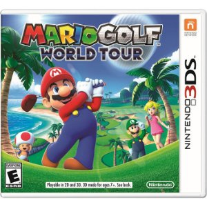 JOGO MARIO GOLF WORLD TOUR - NINTENDO 3DS