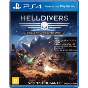 Jogo Helldivers - Ps4