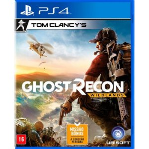 Jogo Ghost Recon WildLands - Ps4