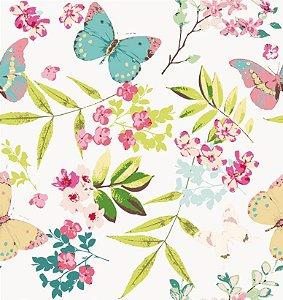 Papel de Parede Adesivo Florais 023