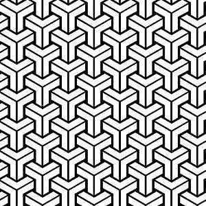 Papel de Parede Adesivo Geométricos 001