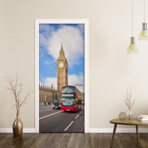 "Adesivo de Porta ""Big Ben"""