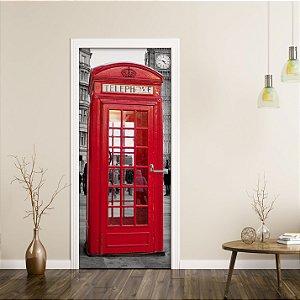 "Adesivo de Porta ""London Calling"""