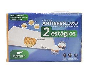 Travesseiro Anti Refluxo Adulto  2 Estágios Rampa Fibrasca