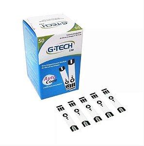 Tiras Para Medir Glicose Free Lite G Tech