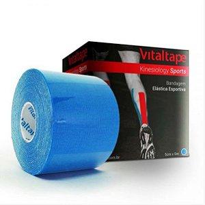 Bandagem Elástica Vitaltape Kinesiology Sports 5cm x 5m