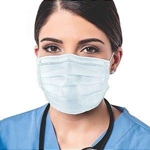 Máscara Cirúrgica Descartável Tripla Camada com Filtro Orthopauher cx 50un
