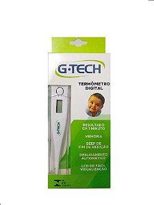 Termômetro Digital Clinico axilar G Tech TH 1027