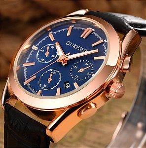 OUKESHI Relógio Marca Top De Luxo Alta Qualidade