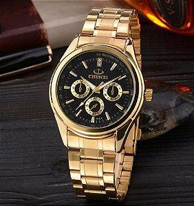 2018 CHENXI Relógio De Ouro Dos Homens Relógios Marca De Luxo