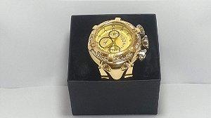 Invicta ProDiver Gold Relógio Homens De Poder