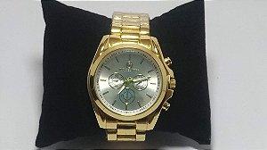 Michael Kors Gold Relógio Mulheres De Negócios