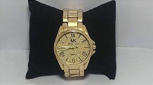 Michael Kors Gold Supreme Relógio Mulheres De Poder