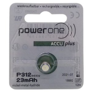 Power One Recarregável - Accu Plus P312