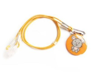 Prendedor Infantil para aparelho auditivo BTE - Ratinho
