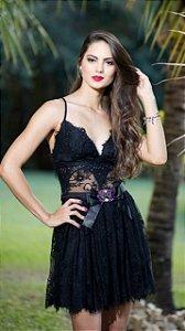 Vestido Juju com Cinto - Anne Fernandes