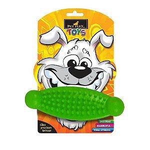 Brinquedos Para Cachorro Massageador Pet Flex Verde