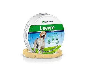 Coleira Anti-Pugas Para Cachorro Leevre Ouro Fino 63cm
