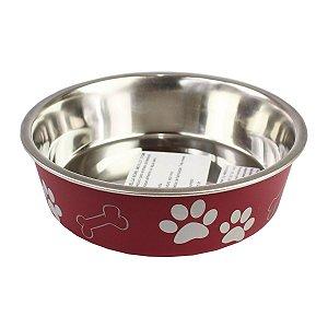 Comedouro Bebedouro Bella Bowl 17cm Loving Pets Merlot
