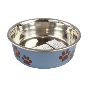Comedouro Bebedouro Bella Bowl 14cm Loving Pets BlueBerry